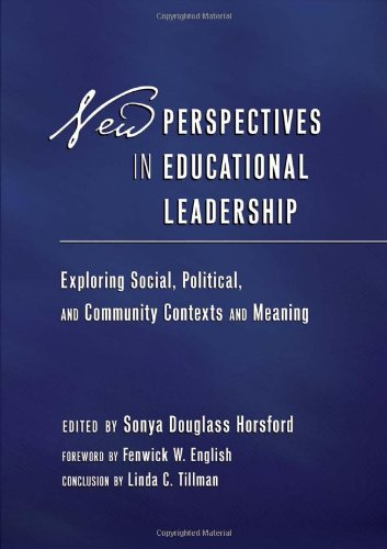 New Perspectives in Educational Leadership: Exploring...