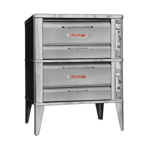 Blodgett 900 Series Gas Baking / Roasting Double Deck Oven, 12″H