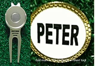 Gatormade Personalized Golf Ball Marker amp Divot Tool Peter