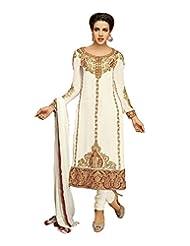 DivyaEmporio Women's Ethnic Salwar Suit Dupatta Unstitched Dress Material (Free Size) - B00V07RWCQ