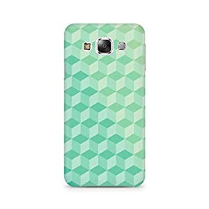 Ebby 3D Cubes Premium Printed Case For Samsung E7