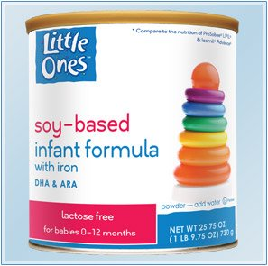 Little Ones® Soy-Based Infant Formula