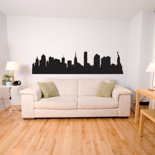 New York MONO - Adesivi Murali - Wall Stickers per la decorazione della casa e delle camerette