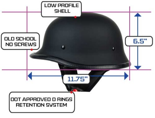 Motorcycle Atv Helmets Automotive 2013 Pgr B09 Matte Black Low