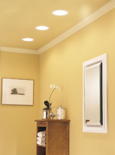 Quiet Box Recessed Lighting : Broan cfm recessed watt bulb fan light new
