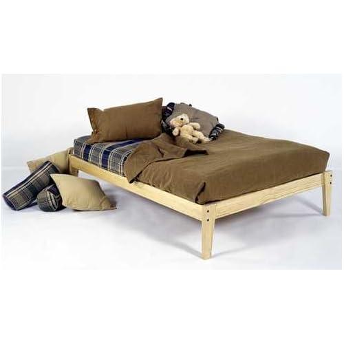 King Size Solid Wood Platform Bed Frame Clean