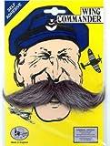 Wing Commander Fancy Dress Moustache Tash Tache