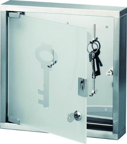 zeller-present-armario-para-llaves-con-puerta-de-cristal