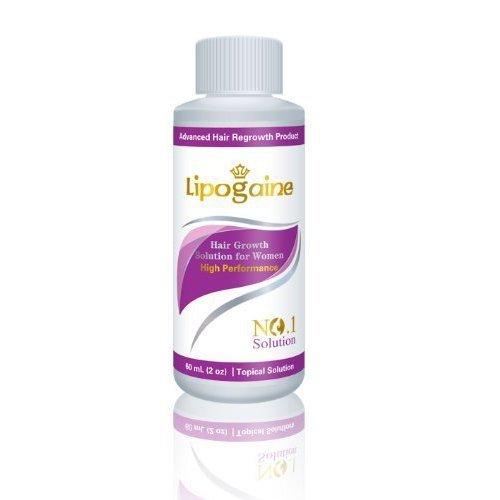 Lipogaine Hair Loss Hair Growth Stimulating All Natural Shampoo Purple