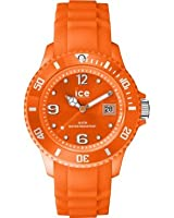 ICE-Watch - Ice-Forever Trendy - Neon Orange - Small - Montre Mixte Quartz Analogique - Cadran Orange - Bracelet Silicone Orange - SI.NOE.S.S.14