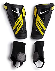 NIKE Protegga Shield, Black/Yellow, L