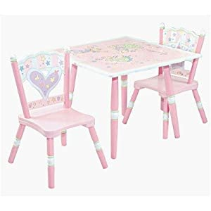 Levels Of Discovery Fairy Wishes Table And 2 Chair Set Pinkwhite from Levels of Discovery
