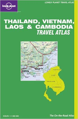 Lonely Planet Thailand, Vietnam, Laos & Cambodia Travel Atlas (Lonely Planet Travel Atlases)