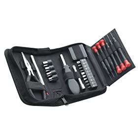 Allied 49032 25-Piece Tri-Fold Mini Tool Set
