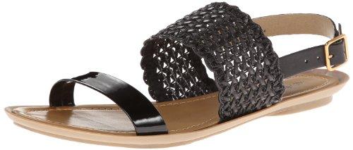 Kenneth Cole Reaction Women'S Un-Snap Dress Sandal,Black,7.5 M Us