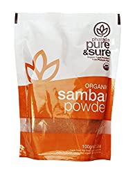 Pure & Sure Organic Powder, Sambar, 100g
