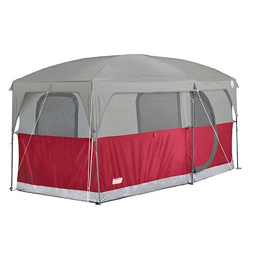 COLEMAN-Hampton-6-Person-Family-Camping-Cabin-Tent-w-WeatherTec-13-x-7