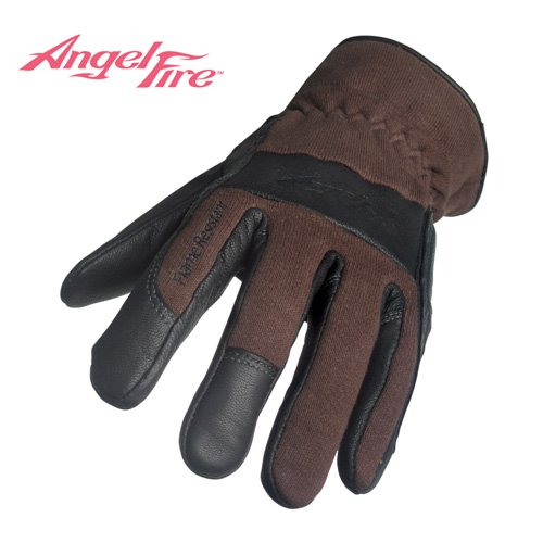BLACK STALLION AngelFireTM Women's TIG Welding Gloves - Chocolate - SMALL