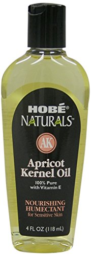 Hobe Naturals Apricot Kernel Oil, 4-Fluid Ounce (Pack of 3) (Hobe Naturals compare prices)