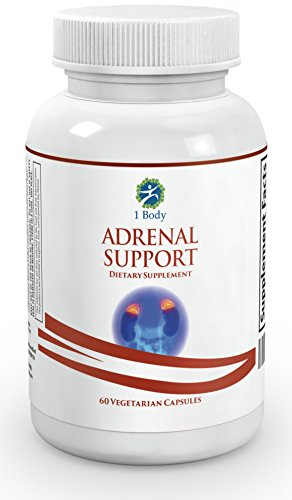 Adrenal-Support-Vegetarian-A-complex-formula-containing-Vitamin-B12-B5-B6-Magnesium-Ginger-Root-Extract-Ashwagandha-Schizandra-Berry-Licorice-more-30-Day-Supply