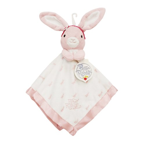 Lambs & Ivy Peter Rabbit Snugglie Toy, Girl front-1052029