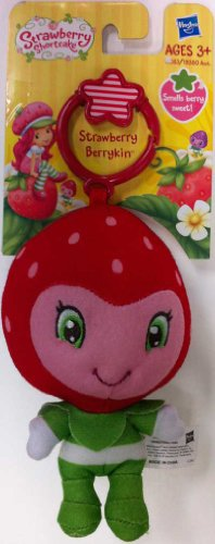 Strawberry Shortcake Strawberry Berrykin Plush Clip-On