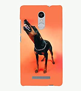 PRINTSOPPII DOG ANGRY Back Case Cover for Xiaomi Redmi Note 3::Redmi Note 3