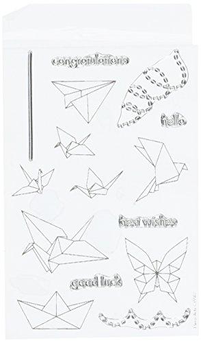 hero-arts-origami-animals-rubber-stamp