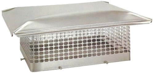 The Forever Cap CCSS1321 13 x 21-Inch Stainless Steel 5/8-Inch Spark Arrestor Mesh Chimney Cap