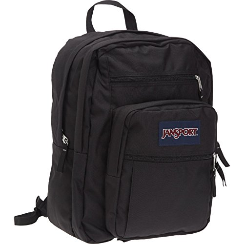 Jansport Big Student Backpack (Black) front-46637