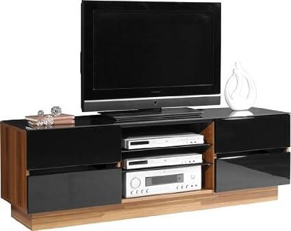 Plasma Lcd Tv Stand, EH708-L-Dark Walnut [0386-87] (Flat Pack)