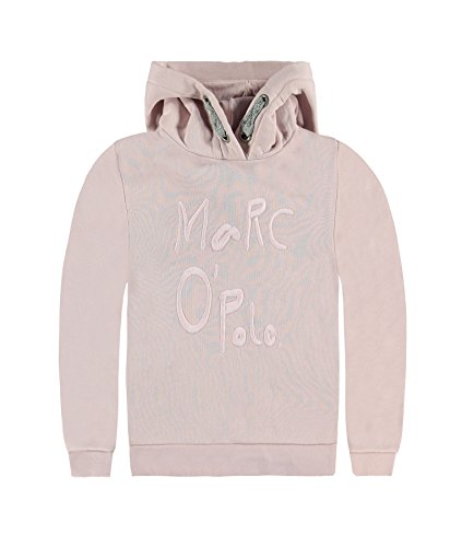 Marc O' Polo Kids Sweatpullover 1/1 Arm Mit Kapuze, Felpa Bambina, Rosa (Burnished Lilac 2752), 14 Anni