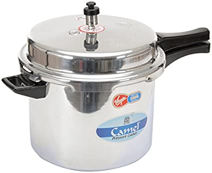Camel Stainless Steel Aluminum 10 L Pressure Cooker (Outer Lid)