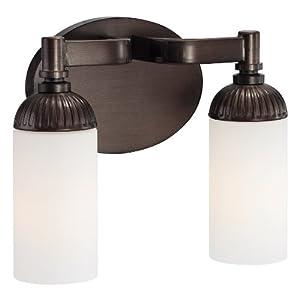Metropolitan N2602 590 Industrial Bronze 2 Light Vanity Home Improvement