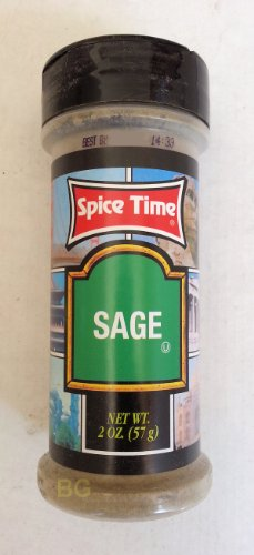 Sage Seasoning By Spice Time Spices & Herbs 2 Oz... Mtc