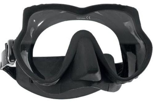 SubGear Tauchmaske DEVIL Einglastauchmaske (schwarz)