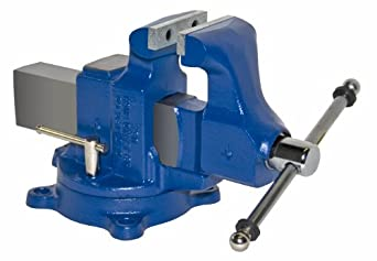 """Yost Vises 204.5 4.5"""" Machinist Vise with 360-Degree Swivel Base, Made in US"""