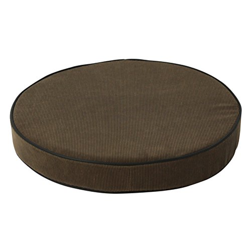 Dakota Designs 5NWJ1 Stool Cushion Round Padded Brown Furniture Chairs Bar