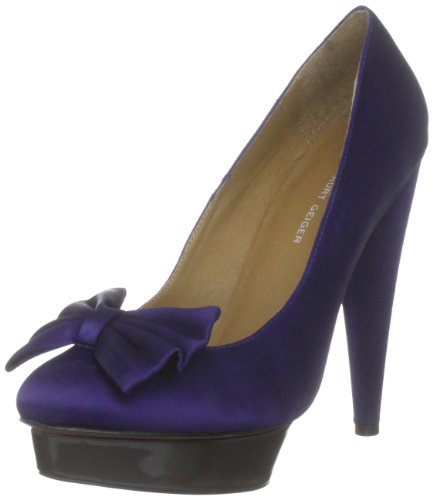 KG by Kurt Geiger Women's Kiki Purple Decorative 2129090759 3 UK