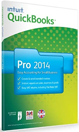 QuickBooks Pro 2014 - 1 User (PC)