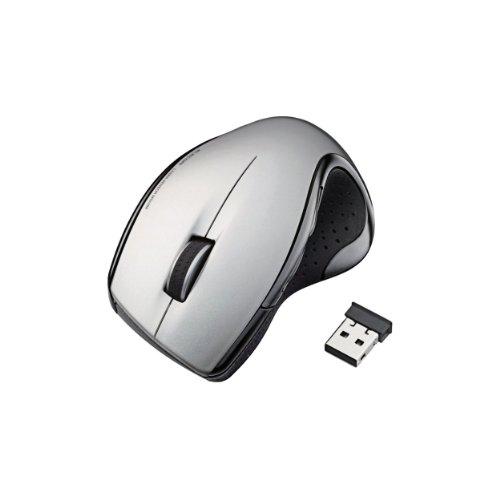 ELECOM wireless laser mouse 5-button 2.4 GHz ergonomic design white M-LS11DLWH