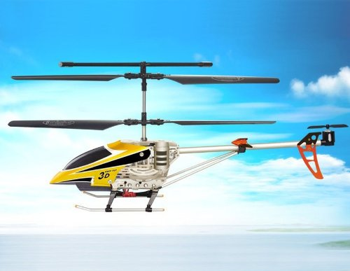 SongYang 8088-34A 3 Channels RC Helicopter (Yellow)