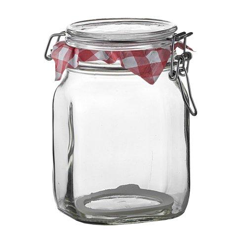 Bormioli Rocco Fido Storage Jar - Wire Bail - 1 L