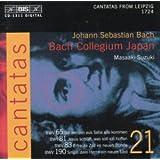 Bach : Cantates sacrées vol. 21 BWV 65, 81, 83, 190