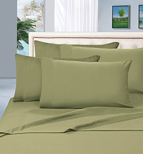 1-Rated-Best-Seller-Luxurious-Bed-Sheets-Set-on-Amazon-Elegant-Comfort-1500-Thread-Count-WrinkleFade-and-Stain-Resistant-3-Piece-Bed-Sheet-set-Deep-Pocket-HypoAllergenic-TwinTwin-XL-Sage
