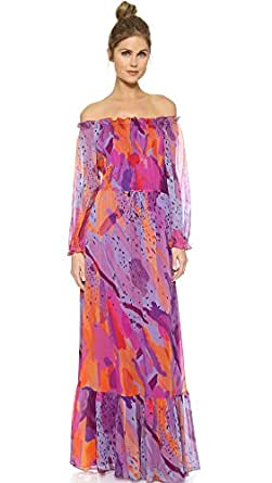 Amazon.com: Diane von Furstenberg Women's Camila Maxi Dress: Clothing