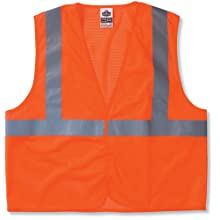 GloWear 8210HL Class 2 Economy Vest 4X-Large/5X-Large, Orange