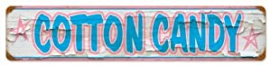 Cotton Candy Food and Drink Metal Sign - Garage Art Signs