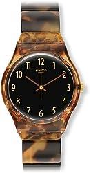 Swatch Analogue Black Dial Men's Watch-GC113A