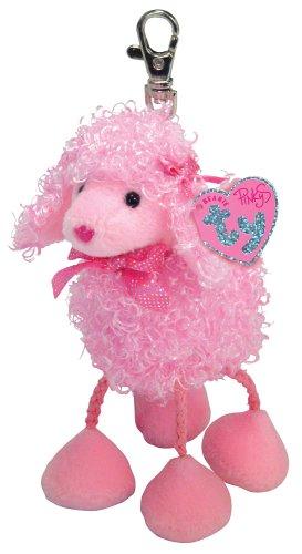 Ty Pinky Poo - Poodle Keychain - 1